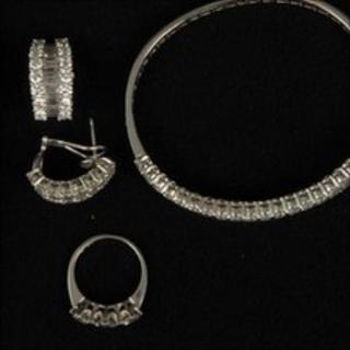 Seized jewellery