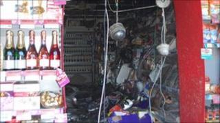 Redruth supermarket fire