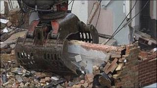 Demolition site