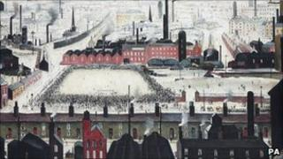 LS Lowry's The Football Match