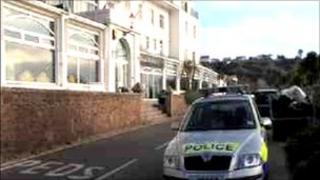 Police car in St Brelade