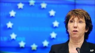 EU High Representative for Foreign Affairs Baroness Catherine Ashton