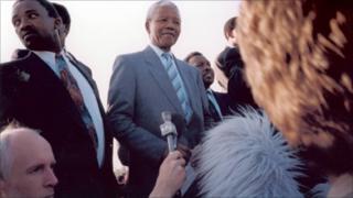 Colin Blane interviews Nelson Mandela