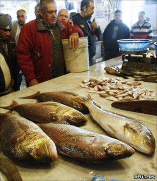 Fishmonger, Lebanon (Image: Reuters)