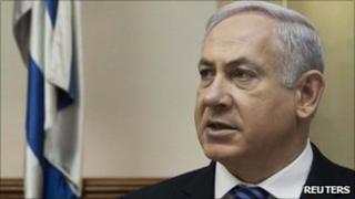 Israeli Prime Minister Benjamin Netanyahu - 30 January 2011