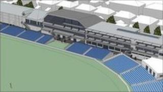 Previous artist's impression of proposed new facilities