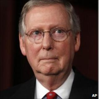 Senate Republican leader Mitch McConnell, 2 Feb 2011