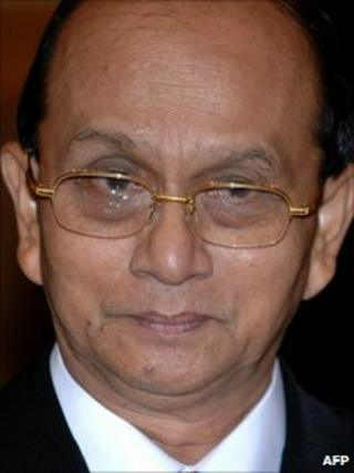 File image of Thein Sein