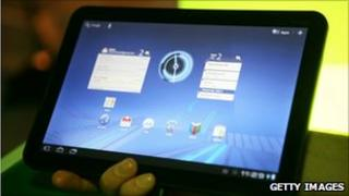 Xoom tablet, Getty