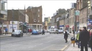 Dalkeith town centre