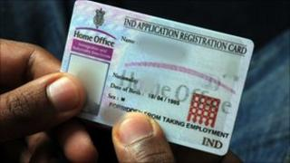 Home Office identity card