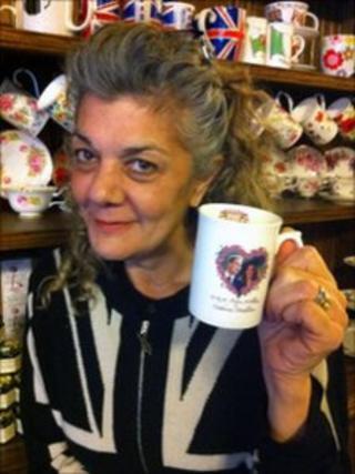 Nicky Perry, a Briton who runs a tea shop in New York