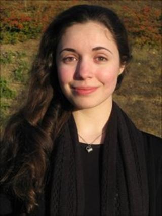 Zurine Vigara, German literature student