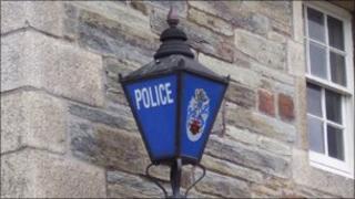 Police station light