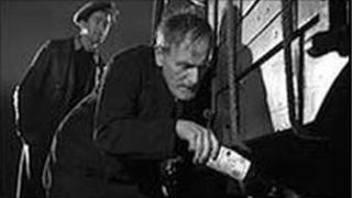 Still from the film Whisky Galore