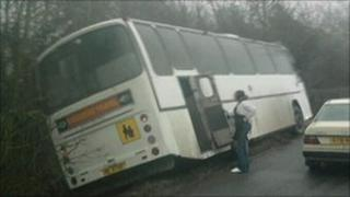 Bus incident