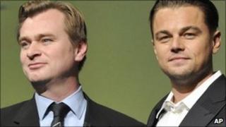 Christopher Nolan and Leonardo DiCaprio