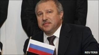 Rosneft president Eduard Khudainatov