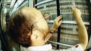 Telecoms engineer, BT