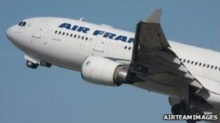 F-GZCP, the Air France jet which crashed, in an image from 2001 (AirTeamImages)