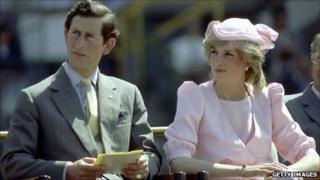 Princess Diana and Prince Charles in 1983