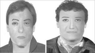 E-fit of Cardiff suspects