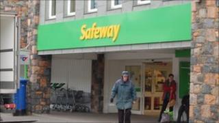 Safeway supermarket in Guernsey