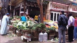 Sulayman Goha Street market