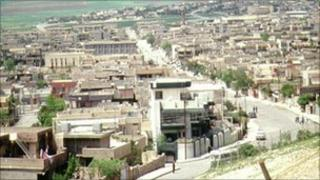 The town of Sulaimaniyah