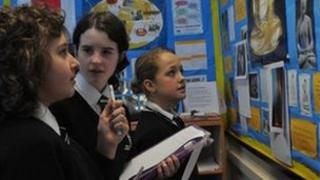 Buckler's Mead pupils during RE lesson
