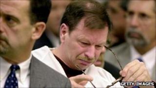 Ridgway breaks down in court in 2003