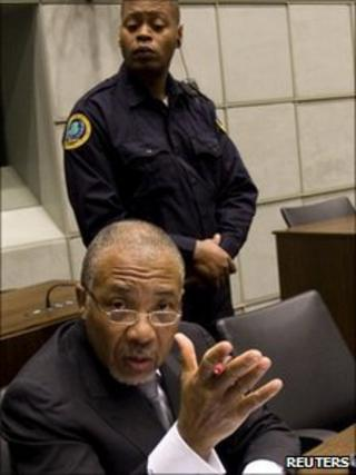 Charles Taylor in court (8/02/11)