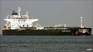 Italian oil tanker MV Savina Caylyn