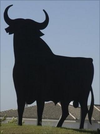 Osborne Bull in Spain