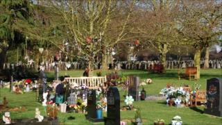 Colchester cemetery