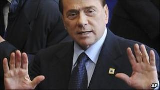 Italian Prime Minister Silvio Berlusconi (4 Feb 2011)
