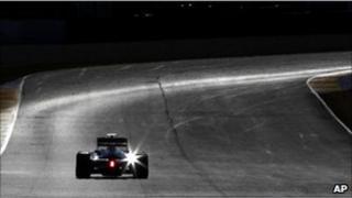 Williams F1 driver Rubens Barrichello