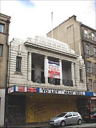 Odeon cinema on Clerk Street