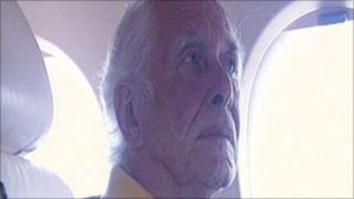 Ronnie Biggs pictured in 2001