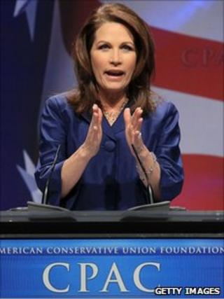 Michele Bachmann speaks at CPAC