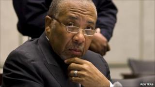 Former Liberian President Charles Taylor, 8 February 2011
