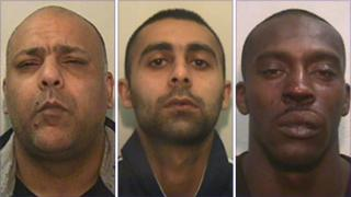 From left, Mohammed Hafiz, Arfan Rafiq and Simeon Henderson