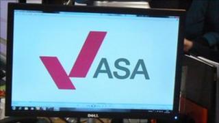 ASA logo on computer