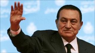 Hosni Mubarak - 31 October 2009