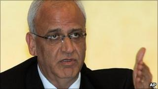 Saeb Erekat (file picture)