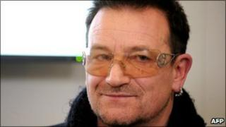 Bono, file pic from January 2011
