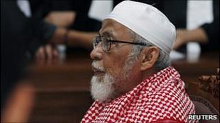 Abu Bakar Ba'asyir in court, 14 February 2011