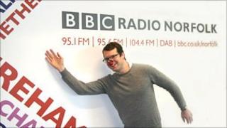 BBC Radio Norfolk's David Webster
