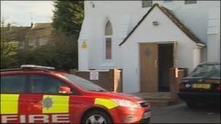 The mosque in Haywards Heath