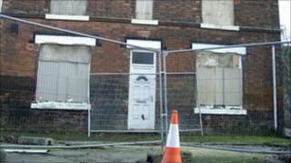 Derelict house in Netherfield